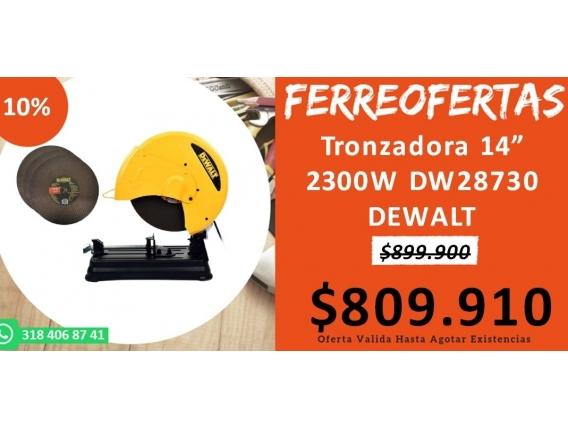 Tronzadora 14 2300W Dw28730 Dewalt
