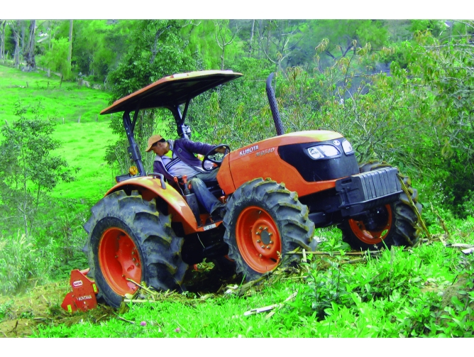 Tractor Kubota M9540 DT